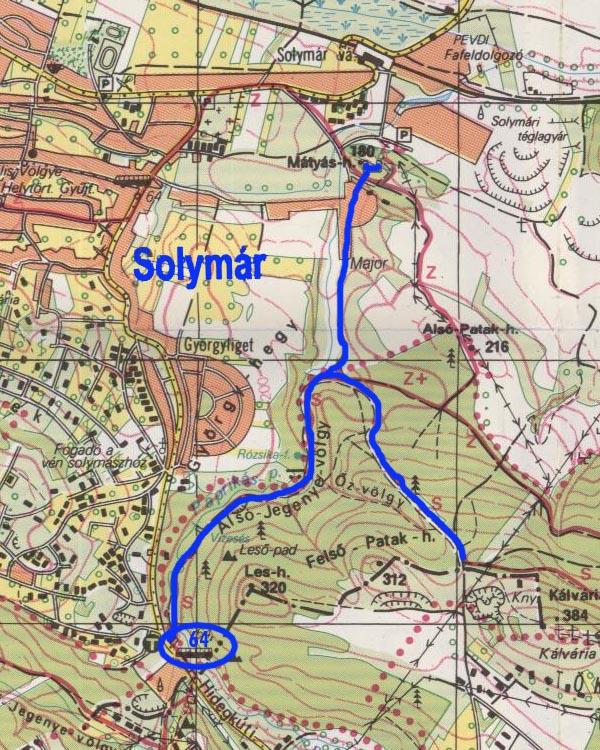 solymár térkép Solymár solymár térkép