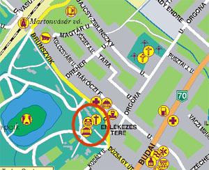 martonvásár térkép Martonvásár martonvásár térkép