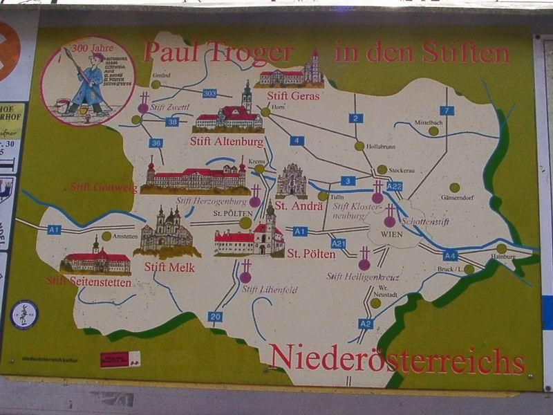 kelet ausztria térkép Alsó Ausztria várai kelet ausztria térkép